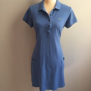 Lacoste polo dress size 42